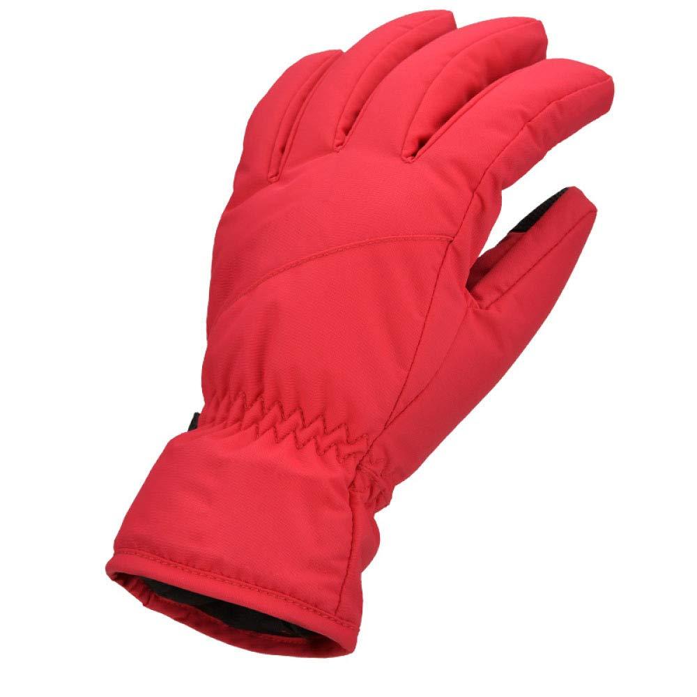 WuJiPeng Warme Handschuhe Für Männer Und Frauen Im Freien Sind Winterfest, Plus Samthandschuhe Und Warme Ski-Bergsteigerhandschuhe