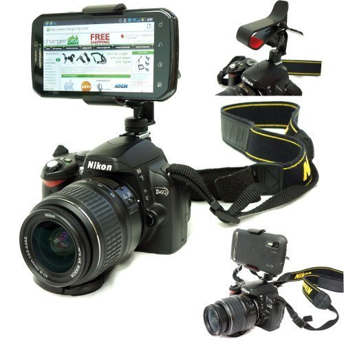 Chargercity Hot Shoe Flash DSLR Camera Tripod Mount for Appl