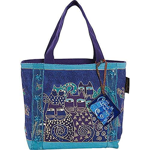 Laurel Burch Mini Bag: Indigo Cats ()