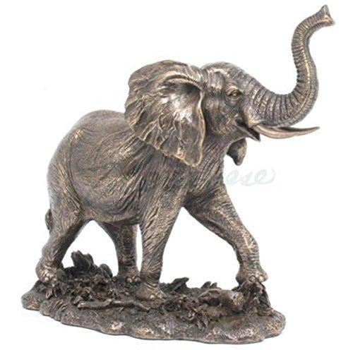 Veronese (ヴェロネーゼ) アフリカゾウ 雄 野生 動物 ブロンズ風 フィギュア B076NQTW5F