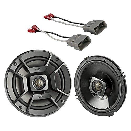 "2x Polk Audio 6.5"" 300W 2 Way Car/Marine ATV Stereo Coaxial"