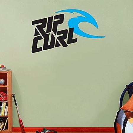 Rip Curl Kites Kiteboarding Sport Blue Logo Home Decor Art