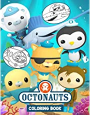 Octonauts Coloring Book: 70 Pages (35 illustrations) Special For Kids | Great Coloring Pages | It Will Be Fun!