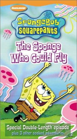 Spongebob Squarepants   The Sponge Who Could Fly  Vhs