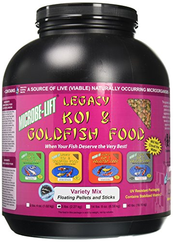obe-Lift Legacy Variety Mix Pond Treatment, 5 lb (Microbe Lift Legacy Koi)