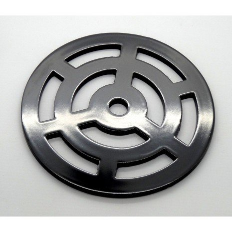 75mm Round Circular Steel Gully Grid, Drain Cover, Grate, Heavy Duty, Strong, Like cast Iron Lakeland Steel Ltd