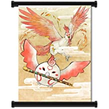"""Okamiden Videogame Fabric Wall Scroll Poster (31"""" x 42"""") Inches"""