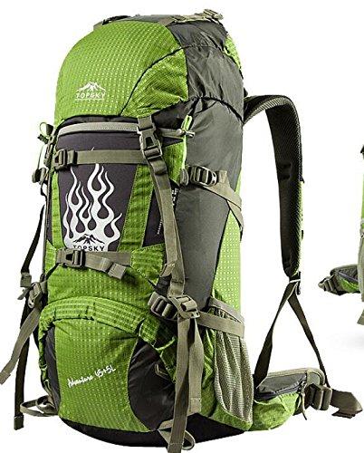 Männer Und Frauen Reisen Rucksack Outdoor Bergsteigen Großer Kapazität Außen Wasserdichte Tasche 50L 60L