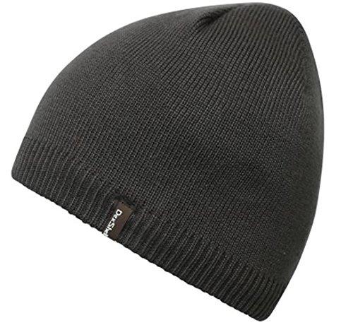 Jackal Outdoors–solo Beanie, Unisex, gris oscuro, talla única gris oscuro