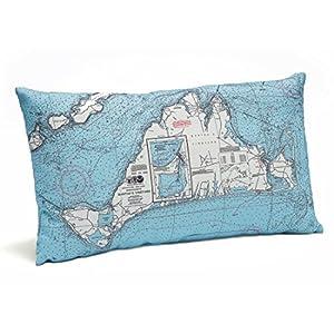 51C0BL2rLiL._SS300_ 100+ Nautical Pillows & Nautical Pillow Covers