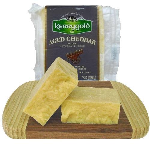 Aged Irish Cheddar, 7 oz. (4 pack) by kerrygold