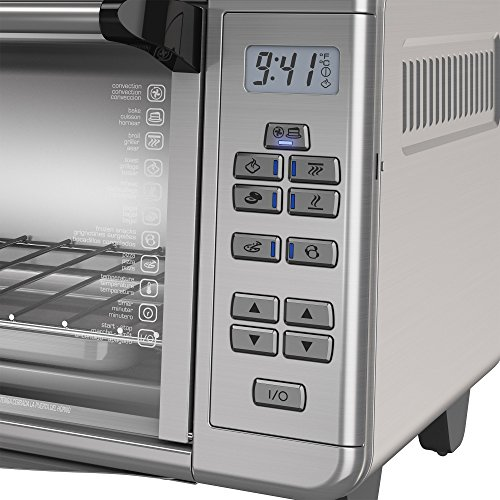 BLACK+DECKER TO3290XSD TO3290XSBD Toaster Oven, 8-Slice, Stainless Steel by BLACK+DECKER (Image #11)
