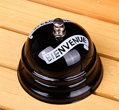 - Desk Kitchen Hotel Counter Reception Restaurant Bar Ring for Service Call Bell (Desk Bell-Welcome)