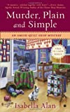 Murder, Plain and Simple, Isabella Alan, 0451413636