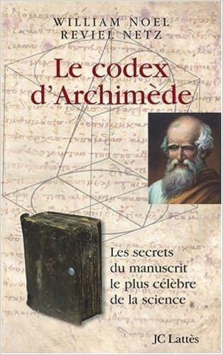 le palimpseste d'archimede epub books