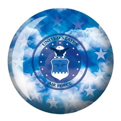 US Air Forceボーリングボール B003NFEX0M   16lbs