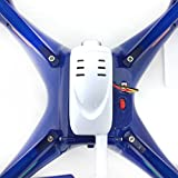 Syma-X5SW-1-FPV-HD-Camera-Drone-with-Real-Time-Transmission-in-Exclusive-Blue-design-with-extra-battery-X5SW