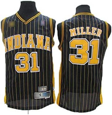 Basketball Jerseys Mens Reggie Miller #31 Indiana Pacers ...