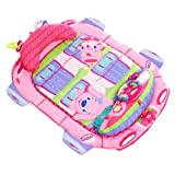 Bright Starts Tummy Cruiser Prop and Play Mat, Pretty In Pink
