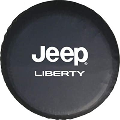 "Spare Tire Cover Pvc Leather Waterproof Dust-Proof Universal Spare Wheel Tire Cover Fit For Jeep Liberty 17""(17"" For Diameter 31""-33""): Automotive"