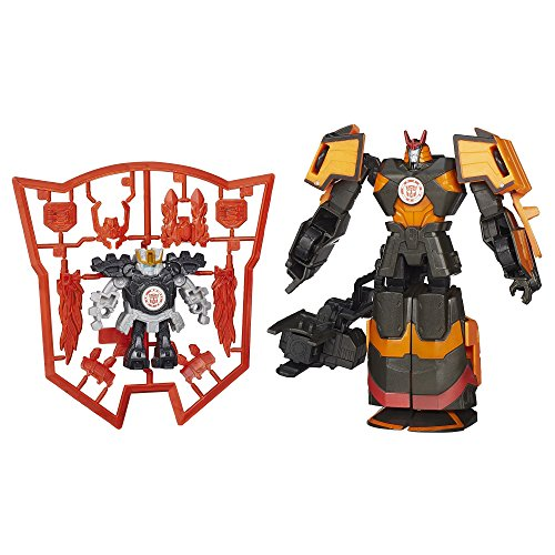 Mini Figure Transformers - Transformers Robots in Disguise Mini-Con Deployers Autobot Drift and Jetstorm Figures