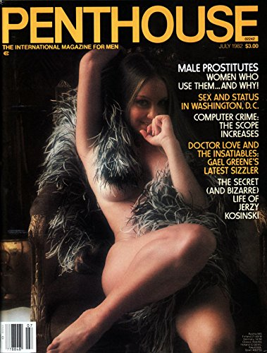 Penthouse Vintage Magazine Back Issue Dated July 1982
