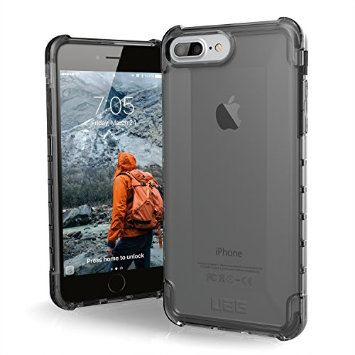 UAG iPhone 8 Plus/iPhone 7 Plus/iPhone 6s Plus [5.5-inch Screen] Plyo Feather-Light Rugged [ASH] Military Drop Tested iPhone Case
