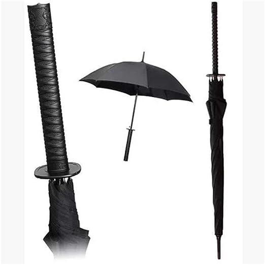 EVERAIE Paraguas Recto, Sombrillas Ninja Samurai - Alta ...