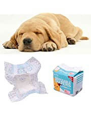 Pet Diapers Female Dog Disposable Leakproof Nappies Puppy Super Absorption Physiological Pants Sanitary Cotton Underwear 10PCS/Bag 4 sizes.