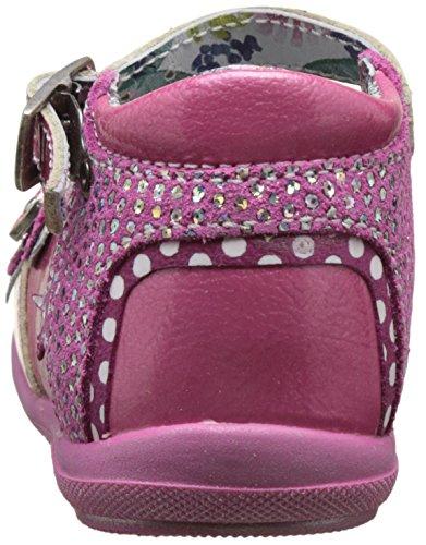 Catimini 17EA14, Zapatos Mary Jane Bebés Rosa (Vct Fushia Dpf/Belen)