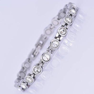 meilleur service 1c7c8 8da23 Jeroot Bracelet Magnetique,Bracelets Magnétiques Sante Bracelets  Magnétiques L'arthrite Magnetique Bracelet Femme Anti Douleur Lien libre +  Outil de ...