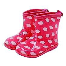 Vine Babys Rain Boots Girl's Waterproof Shoes