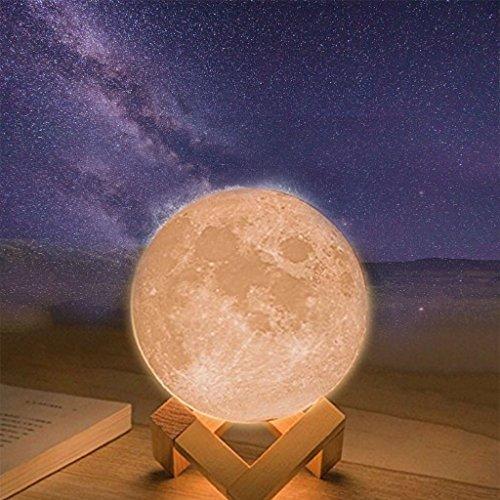 LED Moon Night Light, denshine 3.1\