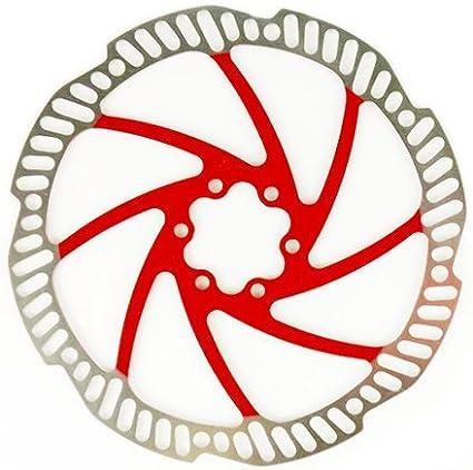 2pcs RED TEKTRO Polygon Auriga//Pro 180mm Disc Brake Rotor OEM PACKAGE