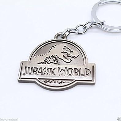 Parque jurásico mundo/gris Logo 3.75