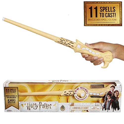 Harry Potter, Lord Voldemort's Wizard Training Wand - 11 SPELLS TO CAST!]()