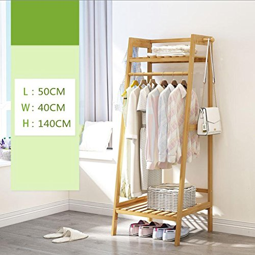 ye Clothes Rack Bamboo Coat Rack Suitable For Bedroom Balcon
