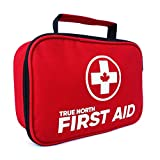 First Aid Kit - True North 120-piece First Aid Kit + Bonus 30-Piece Mini Kit - 152 Pieces Total