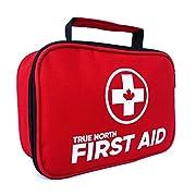 First Aid Kit – True North 120-piece First Aid Kit + Bonus 30-Piece Mini Kit – 152 Pieces Total