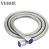 Bathroom Accessories Shower Hose Stainless Steel Flexible Water Pipe 1.5 meters G1/2 Universal Connector Shower Hose Chrome Shower Pipe