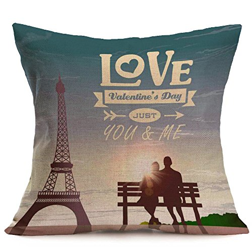 - Throw Pillow Cover, DaySeventh Lovers Sofa Bed Home Decoration Festival Pillow Case Cushion Cover 18x18 Inch 45x45 cm
