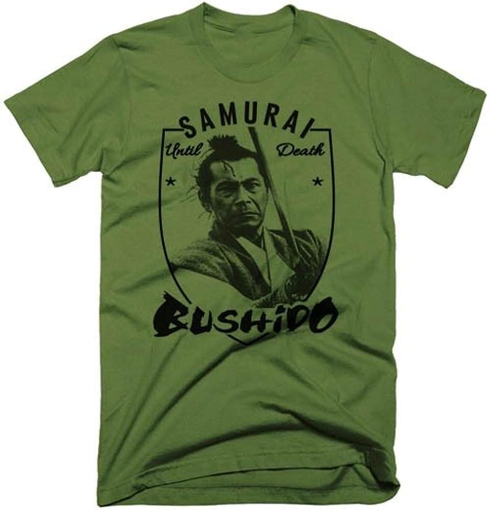 Warface Apparel Samurai T-Shirt Bushido Japanese Katana Ninja Style Tee VI