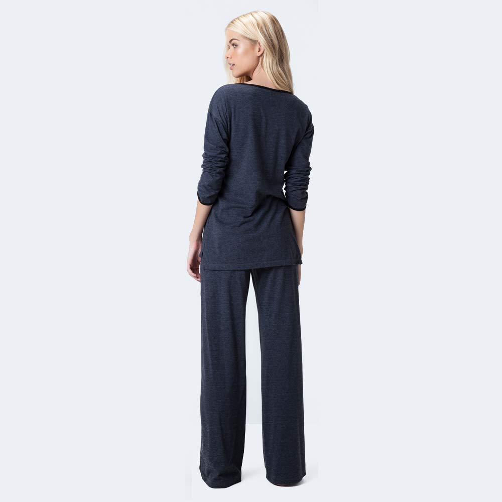 ea18e14504 Pijama Longo Malha Jamaica  Amazon.com.br  Amazon Moda