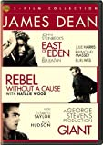 james dean 2015 - James Dean 3FF (DVD)