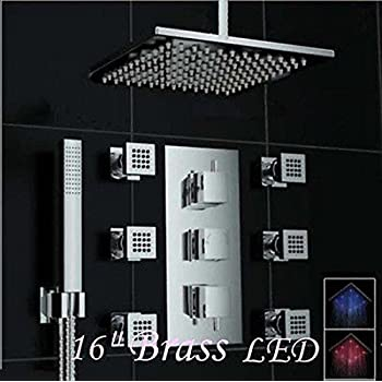 Jiayoujia Shower System With 12 Quot Rainfall Shower Heads