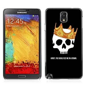 YOYOSHOP [Funny Skull & Crown Message] Samsung Galaxy Note 3 Case