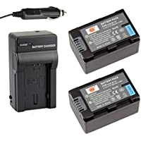 DSTE® 2x BT-S7 Battery + DC140 Travel and Car Charger Adapter for Aigo S7 BenQ M33 Rich A210 Oucca A12 Camera as F-O-000914-WM