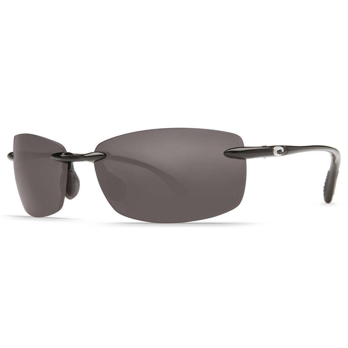 Costa Del Mar Ballast C-Mates 2.50 Sunglasses Shiny Black/Gray 580Plastic