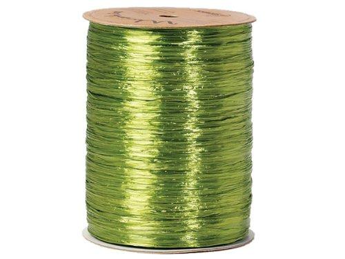 (PEARLIZED Jungle Green Raffia100 yds (10 unit, 1 pack per unit.))