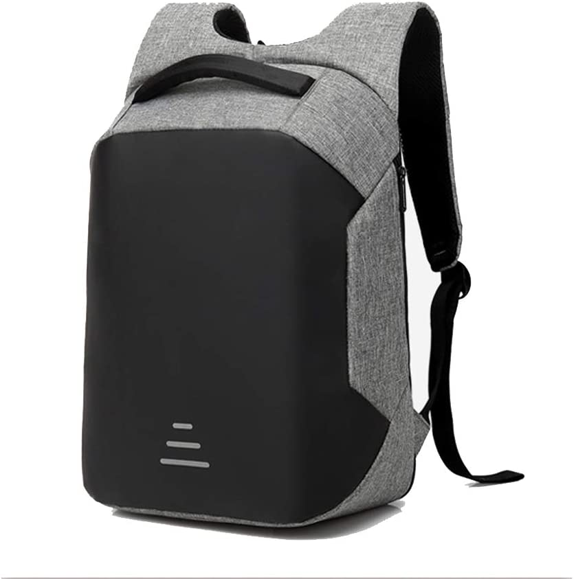 Travel Laptop Backpack Business Anti Theft Durable Laptops Backpack with USB Charging Port Water Resistant College School Computer Bag for Men Women Grey
